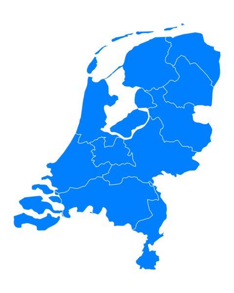 Alle locaties in Nederland