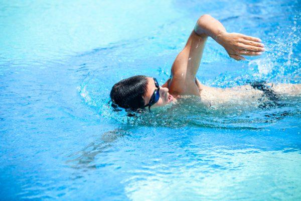 Zwemmen met een schema